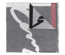 Schal mit Fransen