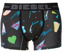 - Shorts mit Multi-Print - men
