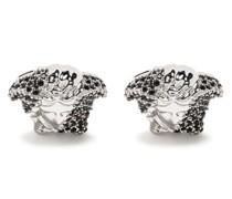Medusa Manschettenknöpfe mit Kristallen