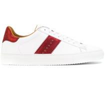 contrast stripe sneakers