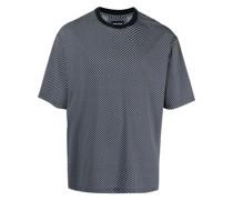 Geometrisch gemustertes T-Shirt