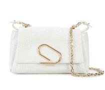 'Alix' Handtasche mit Kroko-Effekt