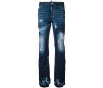 'Ski' Jeans in Distressed-Optik - women