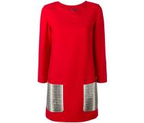 - Kleid mit Kontrasttaschen - women - Schurwolle