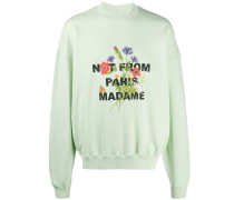 'Not from Paris' Sweatshirt