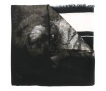 Wollschal mit Rottweiler-Print