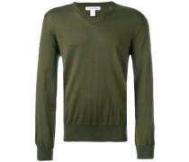 Pullover mit V-Ausschnitt - men - Baumwolle - L