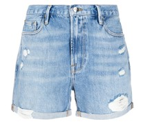 'Los Angeles' Distressed-Shorts