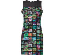 Kleid mit TV-Print