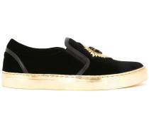 Slip-On-Sneakers mit Patch