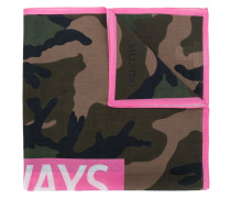 'Always' Schal mit Camouflage-Print