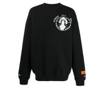 "Sweatshirt mit ""Over Bird""-Print"