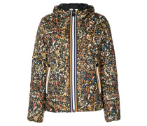 x K-Way floral print puffer jacket