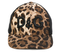 Animal Print Logo Cap