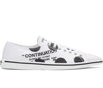 Sneakers mit Polka Dots