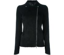 two-way zipped jacket