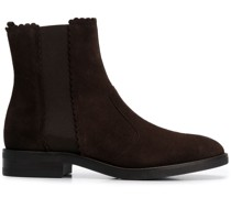 Chelsea-Boots mit gewellten Kanten