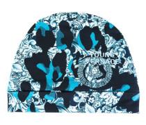 camouflage baroque print hat