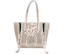 'Cabas' tote with pineapple detailing