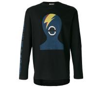 Bowie silhouette print sweatshirt