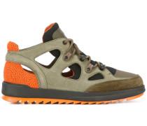 Perforierte Sneakers - men - Leder/Nylon/rubber