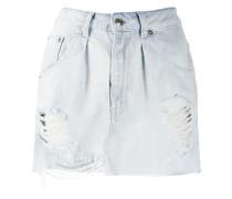 Jeans-Minirock im Distressed-Look