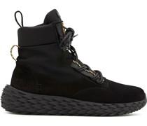 Urchin high-top suede sneakers