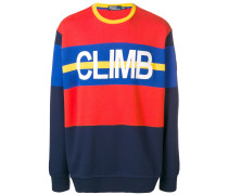 'Hi Tech' Sweatshirt in Colour-Block-Optik