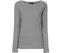 striped long sleeved T-shirt
