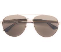 Pilotenbrille mit Logo-Prägung - unisex