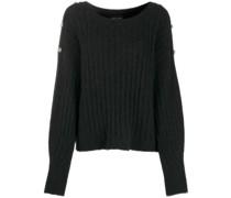 Pullover mit geknöpfter Schulter