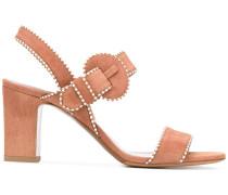 Sandalen mit Kontrastpaspeln - women