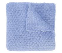 fuzzy knit blanket scarf