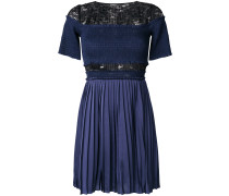 Paris Nights pleated and ruched dress
