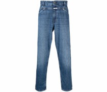 Gerade Tapered-Jeans