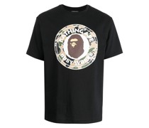 A BATHING APE® T-Shirt mit Logo-Print