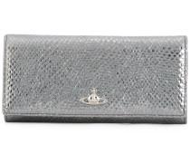 metallic orb wallet