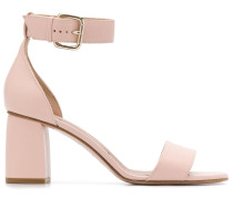 Sandalen mit Knöchelriemen, 80mm