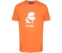 T-Shirt mit Karl-Motiv