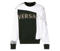 studded logo jumper