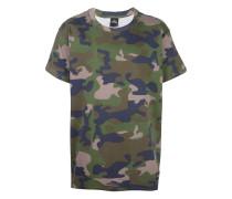 'Kanye 77' T-Shirt mit Camouflage-Print