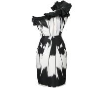 Asymmetrisches Kleid mit Drapierung