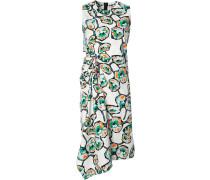 'Whisper' Kleid mit asymmetrischem Saum