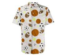 Hemd mit Ball-Print