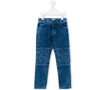 Jeans mit gesteppten Einsätzen - kids