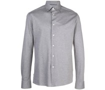 Klassisches Jersey-Hemd