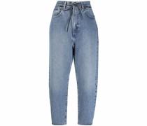 Barrel Cropped-Jeans