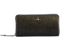 glitter zip wallet - women - Leder/Kunststoff