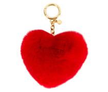 heart shaped key ring