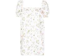 Carsen floral-print mini dress